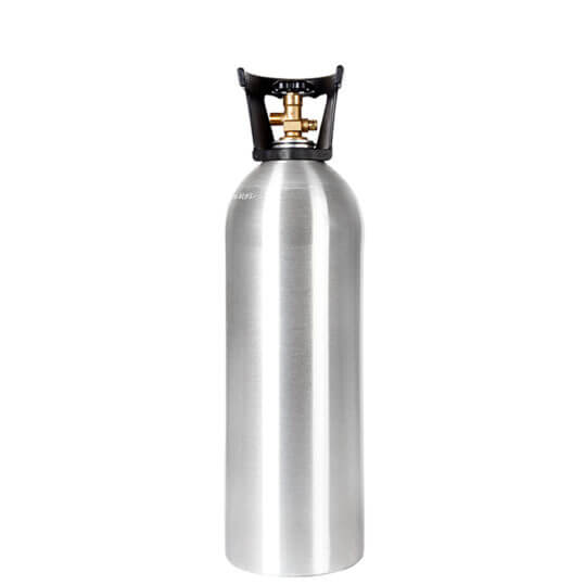 Gas Cylinder Source 20 lb Aluminum CO2 Cylinder