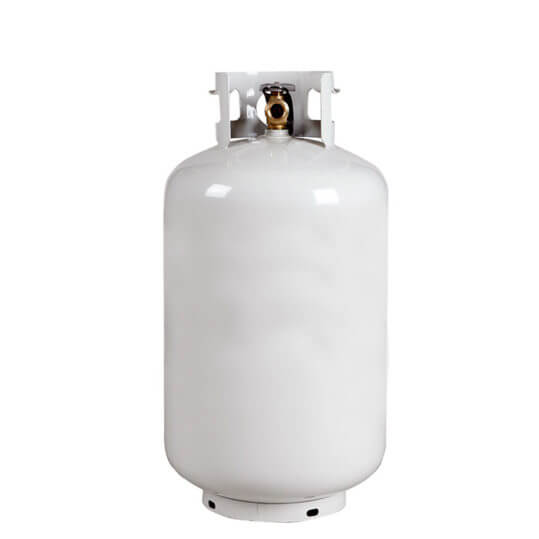 gas cylinder source 30 lb steel propane cylinder