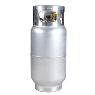 30 lb  Reconditioned Steel Propane / LP Cylinder | Gas Cylinder Source