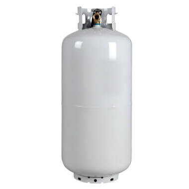 Gas Cylinder Source 40 lb Steel Propane LP Cylinder