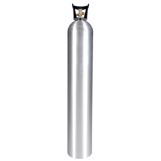 Gas Cylinder Source 50 lb Aluminum CO2 Cylinder