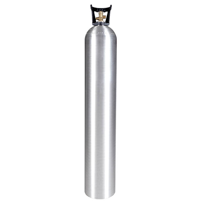 50 lb  Aluminum CO2 Cylinder with Handle