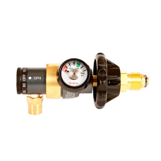 Gas Cylinder Source Western Enterprises Accu-Trol MIG/TIG Argon/CO2 Gas Regulator