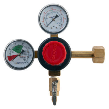 Gas Cylinder Source Taprite Dual Gauge CO2 Regulator