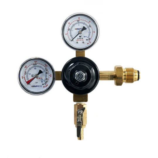 Gas Cylinder Source Taprite Dual Gauge Nitrogen Regulator