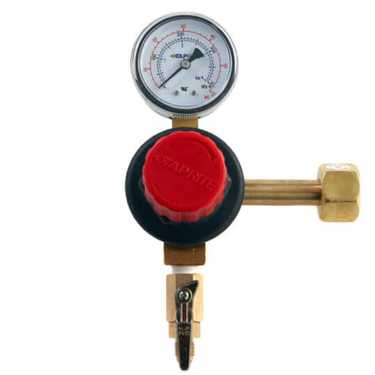 Gas Cylinder Source Taprite Single Gauge CO2 Regulator
