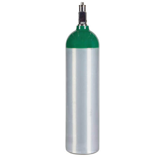 Requalified ME Oxygen Cylinder