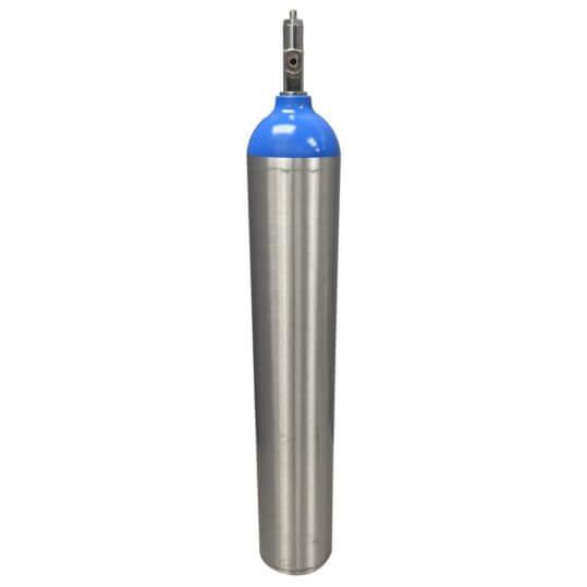 Medical E Aluminum Nitrous Cylinder - Reconditioned